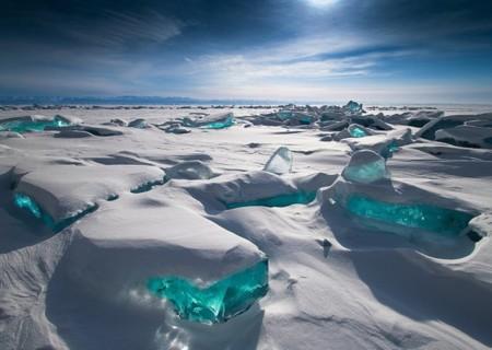 Espectaculares imágenes del lago Baïkal en Rusia