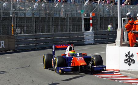 Sergio Canamasas 2014 GP2 Mónaco
