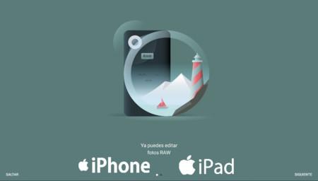 Snapseed ya permite trabajar con los RAW de 144 cámaras a los usuarios de iPhone y iPad