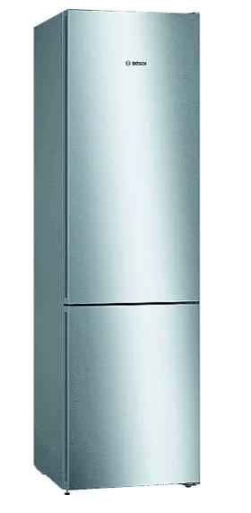 Frigorífico Combi - Bosch KGN39VIDA, No Frost, 100 W, 50 Hz, 368 l, Acero inoxidable antihuellas