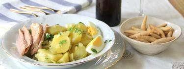 Receta de papas aliñadas (y las claves para que te salgan como si estuvieras en Cádiz)