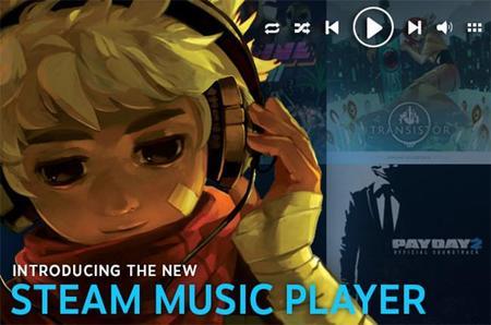 Ya disponible Steam Music Player y con soundtracks de regalo