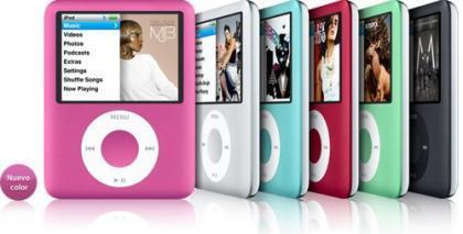 San Valentín: iPod Nano rosa