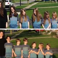 Estos 6 hermanos recibieron burlas durante años por su pelo: y no se lo cortaban para donarlo