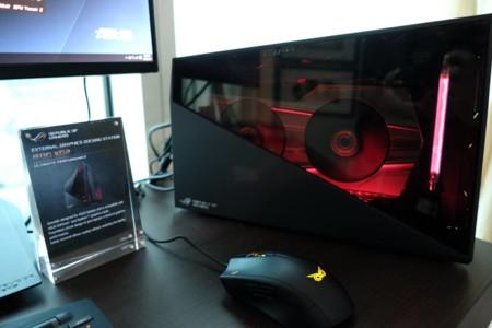 ASUS ROG XG Station 2 también nos dejará usar gráficos externos en portátiles