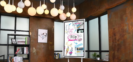 Samsung Flip: así luce el nuevo tablero interactivo ideal para las reuniones de oficina
