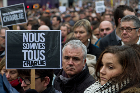 Je Suis Charlie Brest France 11 January 2015 11