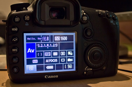 Magic Lantern en la Canon EOS 7D