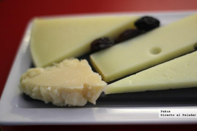quesos con distintas texturas
