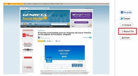 Pinterest pide ayuda a los usuarios para detectar el spam