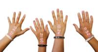 Con este reloj de pulsera usarás tu mano como pantalla