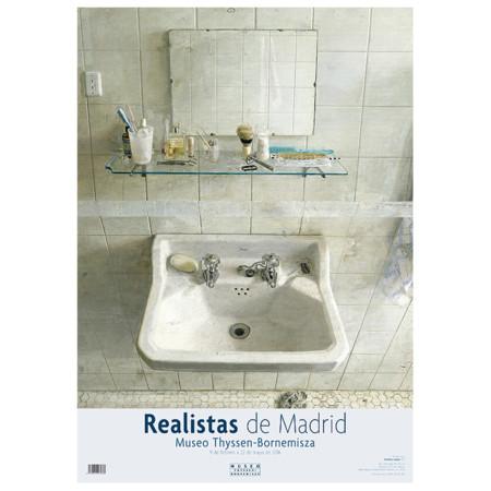 Poster Realistas De Madrid Tienda M Thyssen