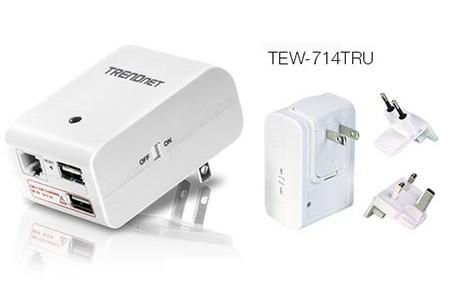 TRENDnet TEW-714TRU, router WiFi de bolsillo para llevar de viaje