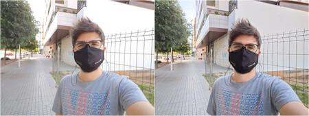 Selfie Sin Y Con Hdr