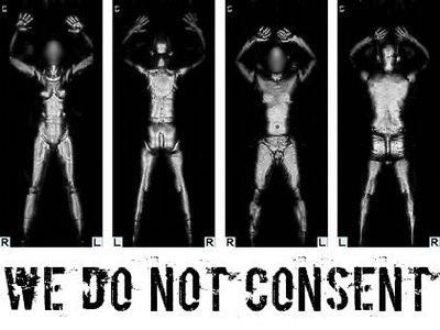 We won't fly, campaña contra los escáneres corporales