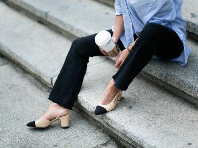 Clonados y pillados: ¡He aquí el clon más deseado de los slingback de Chanel!