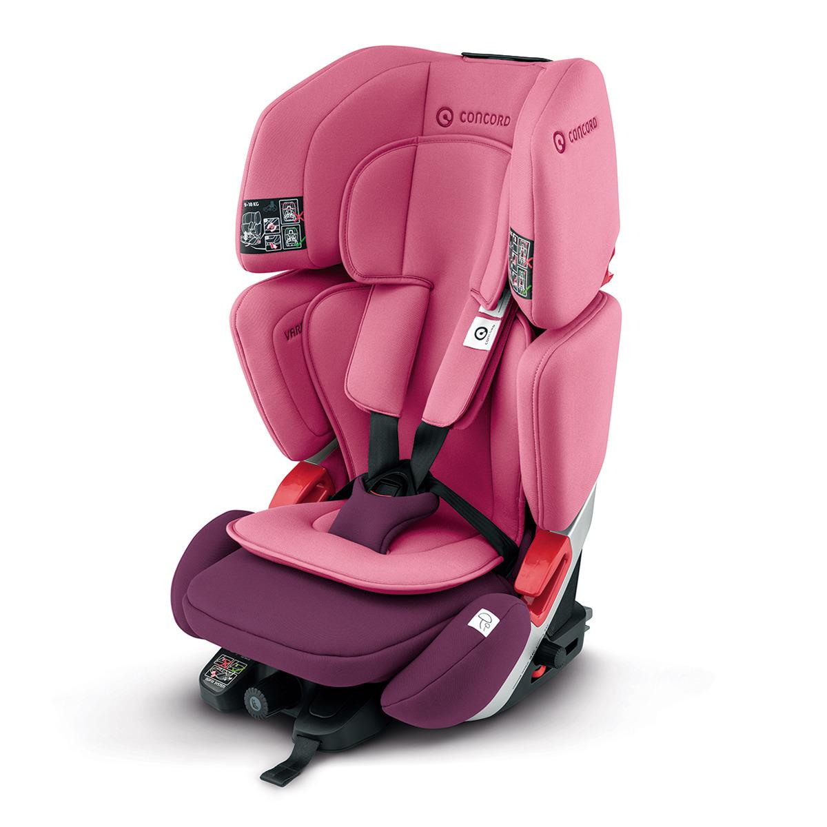 Silla de auto Concord Vario XT-5 rosa - Grupo 1/2/3
