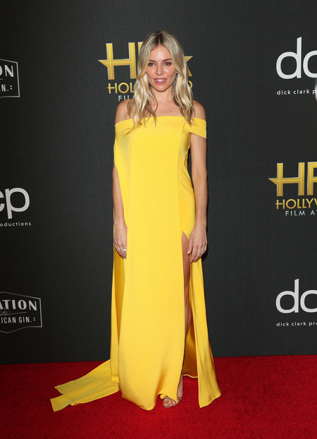 Sienna Miller hollywood film awards 2019
