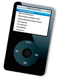 iPod virtual para aprender sobre podcasts
