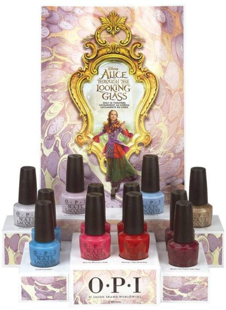 OPI Alice Through the Looking Glass 2016 Summer Collection