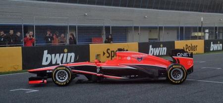 Marussia descubre el MR02