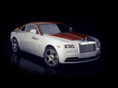 Un yate de lujo para la calle, el Rolls-Royce Wraith Regatta
