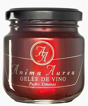 Geleé de vino Pedro Ximenez de Anima Aurea