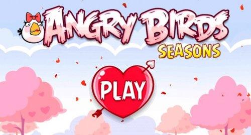 Pájaros,cerdosycorazones:AngryBirdsSeasonsseactualizaporSanValentín