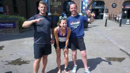 Mujer correrá 53 maratones en 53 dias