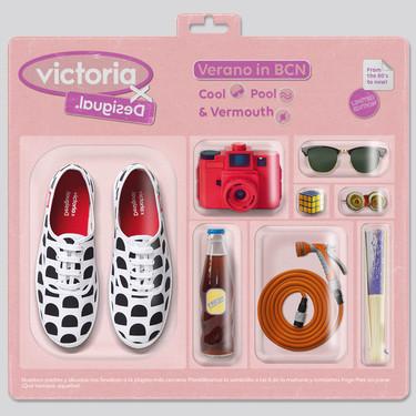 Desigual y Victoria se han aliado para crear la colección de zapatillas más divertida (y llamativa) de la temporada