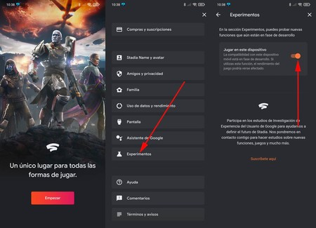Google Stadia Android-OS Tv