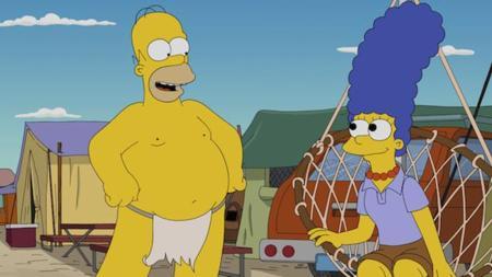 ¿Qué pasaría si los Simpsons fueran al Festival de Burning Man? No te lo preguntes más