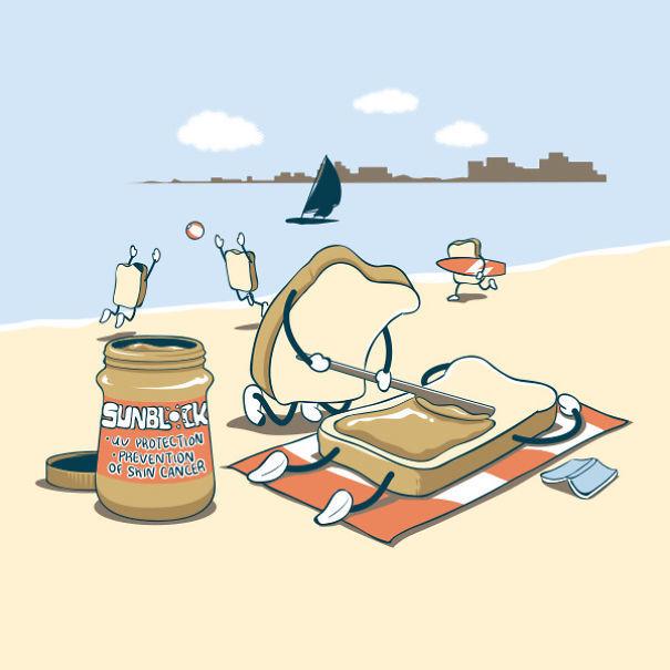 Foto de Caricaturas con comida (12/15)