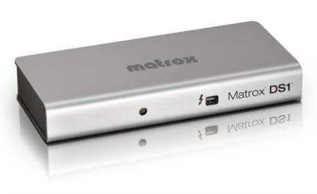 Matrox DS1, amplia las conexiones de tu Mac gracias a Thunderbolt