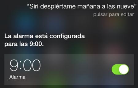 Siri Alarma