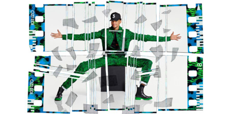 H M Kenzo Campaign Chancetherapper