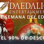 Ofertas de hasta el 90% de descuento en títulos de Daedalic Entertainment en Steam