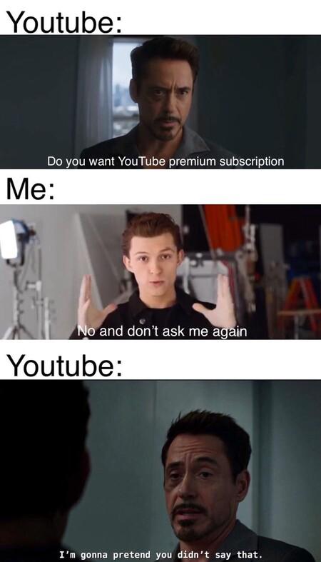Youtube Premiums