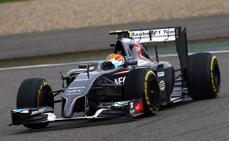Sauber dispondrá de un coche más ligero pero solo Esteban Gutiérrez estará por debajo del peso mínimo