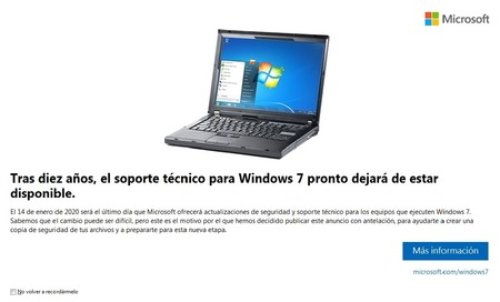 Windows 7 Fin Soporte