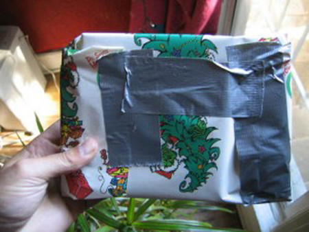 Bad Wrapping Duct Tape