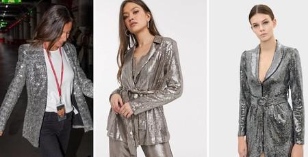 La chaqueta de lentejuelas plateada que llevó Ana Boyer y nuestros otros 5 modelos favoritos para esta Navidad