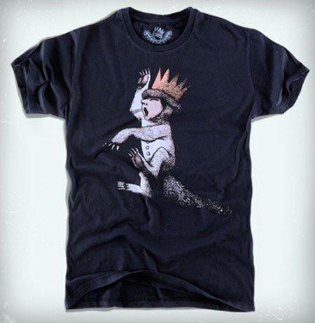 Pull and Bear lanza una colección de camisetas de 'Donde viven los monstruos'
