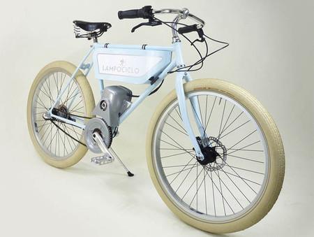 Lampociclo, la bicicleta eléctrica para los amantes de lo clásico