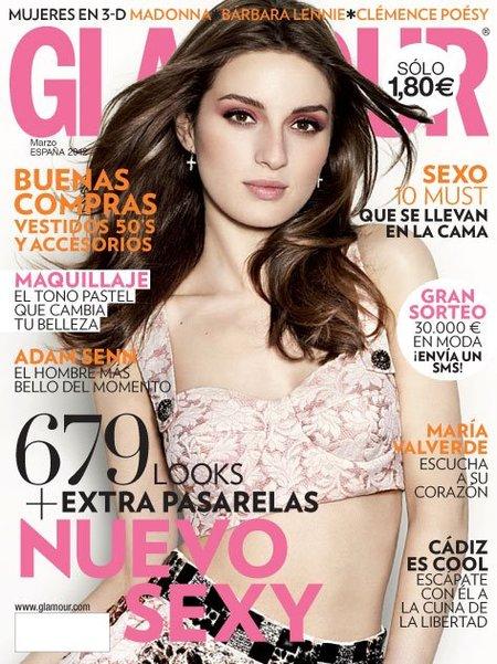 María Valverde, pero qué mona y Glamour-osa es esta chica
