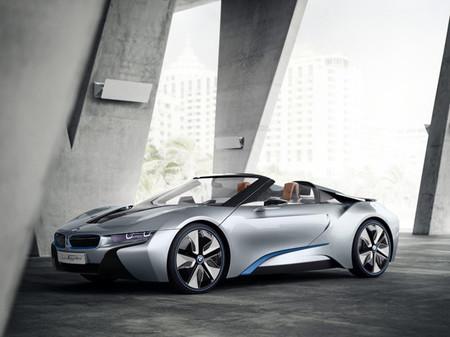 BMW i8 Spyder, el más atractivo de su promoción