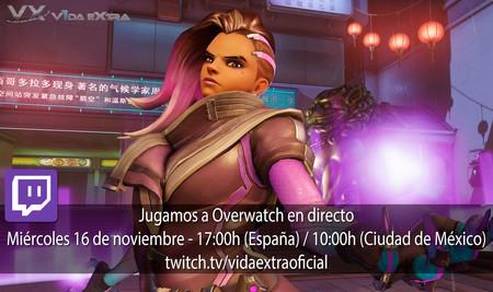Streaming de Overwatch hoy a las 17:00h (las 10:00h en Ciudad de México) [Finalizado]