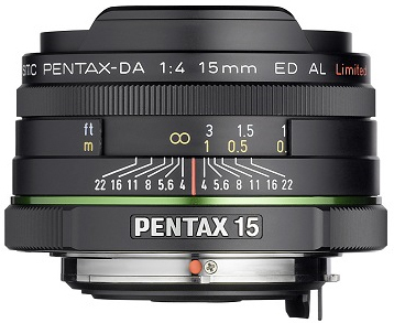 Pentax 15 mm f4 DA Limited