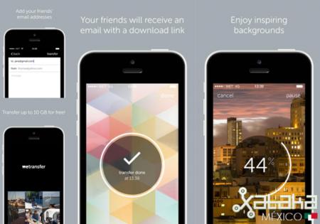 WeTransfer para iOS