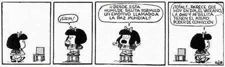Mafalda Paz Mundial Quino